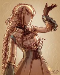 Sketch - Granado Espada by Black-Curls