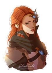 Final Fantasy XIV - Camomile Flintlock by Black-Curls
