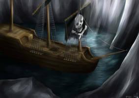 Pirate ship thingie lalala by Amanduur