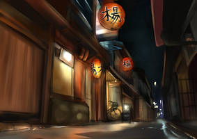 Lanterns by Amanduur