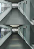 Hallway by Amanduur