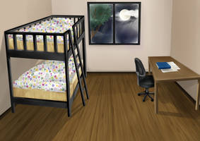 Bedroom by Amanduur