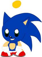 Sonic the hedgehog Chao by Vickicutebunny