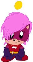 Sonia the hedgehog Chao  by Vickicutebunny