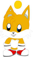 Miles Tails Prower Chao  by Vickicutebunny