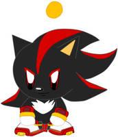 Shadow the Hegehog Chao by Vickicutebunny