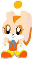 Cream the Rabbit Chao by Vickicutebunny