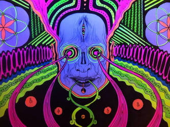 psychedelic dream by Indigoportal
