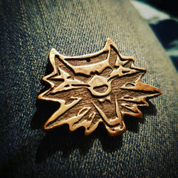 Witcher Pendant by geekatheart