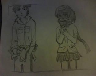 miki and heero by takasugi0324