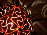 Table lamp XIII - Thorn Sphere by Calabarte