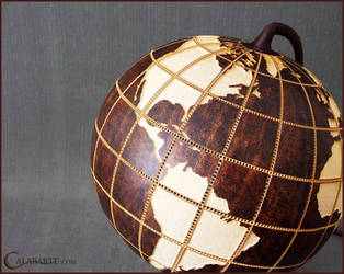 Table lamp XIV - Globe II by Calabarte