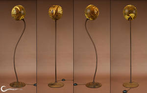 Floor lamp III Ammonitis by Calabarte