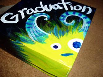 Graduation Monster by SpiralRaccoon