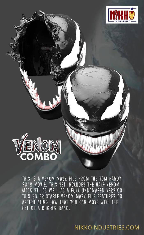 Venom Combo Pin by doi313