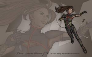 Wallpaper - DoM: Tanea by AerynDiana