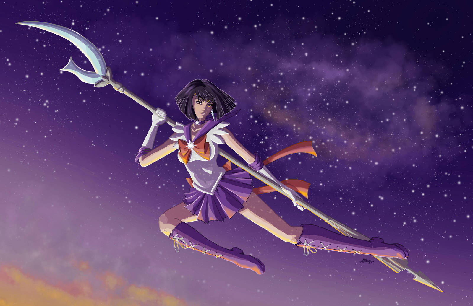 Sailor Saturn by AerynDiana