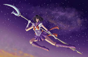 Sailor Saturn by AerynDiana