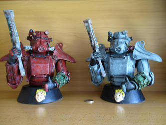 Fallout 3 Armour by Tortur3edArtist