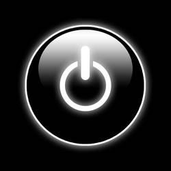 power-button in black by helmlein
