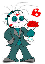 Romantic Jason Voorhess by Hippiesforever14