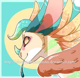 Icon Headshot of Ecko by SleepyDemonMonster