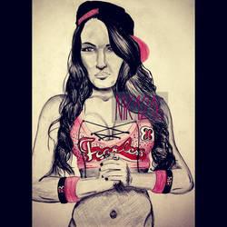 Fearless Nikki by faluccangel