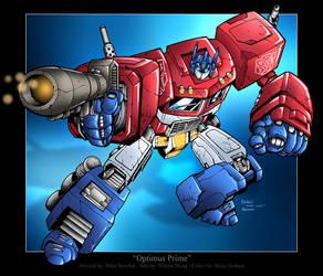 Optimus Prime by BrianGraham