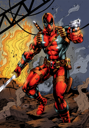 Deadpool (COLORS) by BrianGraham