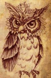 Owl by RILLAH