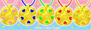 Starlight Maidens: Compact locket group by Miss-Gravillian1992