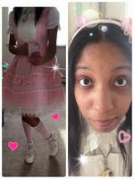 Simplistic Pink Coord by Miss-Gravillian1992