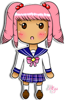 Cutesy Dolly Sticker: Miyu by Miss-Gravillian1992