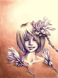 Magnolia Princess (Deeyan) by EllerArt