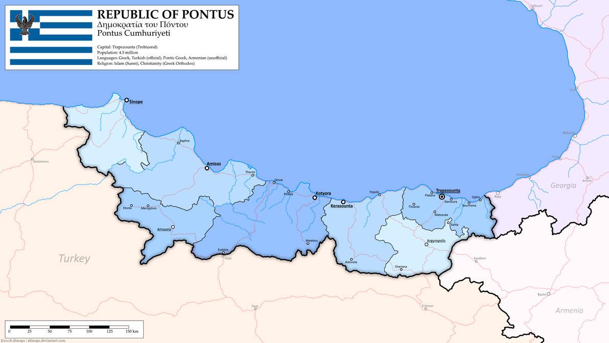Republic of Pontus by altmaps