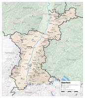 The German Bundesland of Oberrhein by altmaps