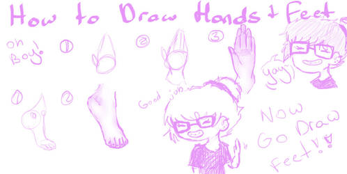 How To Draw Hand S And Feet By Eco Anime On Deviantart