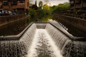 Art Deco Waterfall by wafitz