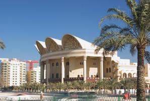 Al Fateh Grand Mosque - Bahrain by wafitz