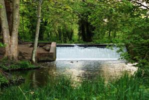 Flood Control Dam by wafitz
