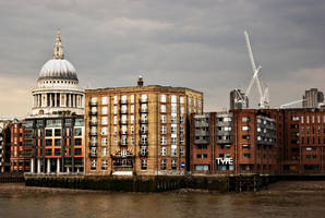 Thames View of St Pauls by wafitz