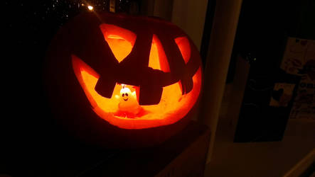 Pumpkin with a Twist by wafitz