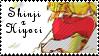 Shinji x Hiyori stamp by atlantismonkey