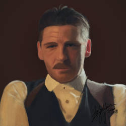 Arthur Shelby from Peaky Blinders #UPDATED by WickedDogg