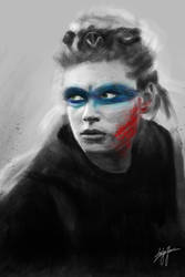 Lagertha from Vikings by WickedDogg