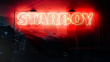 Starboy Wallpaper (Daft Punk featuring) by WickedDogg
