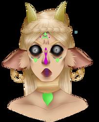 demon eyes by GaySpaceTrash
