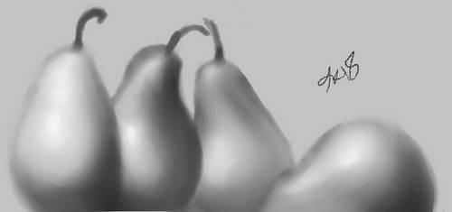 pears by GaySpaceTrash