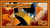 Danger Duck stamp by 6t76t