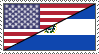 Salvadoran-American Stamp by 6t76t